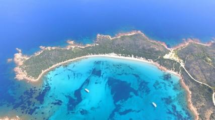Aerial View Of Seascape - fototapety na wymiar