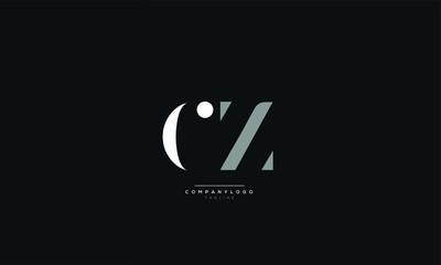 Fototapeta CZ Letter Logo Design Icon Vector Symbol obraz