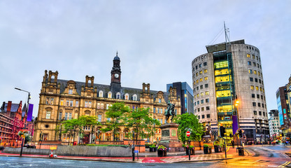 City Square in Leeds, England Fototapete
