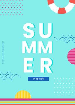 summer vector background