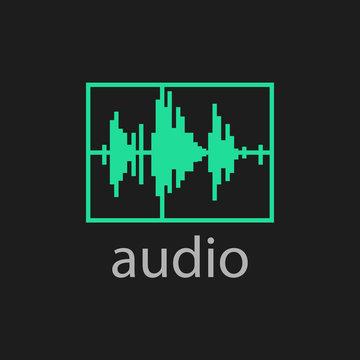 adobe premier pro audio icon vector