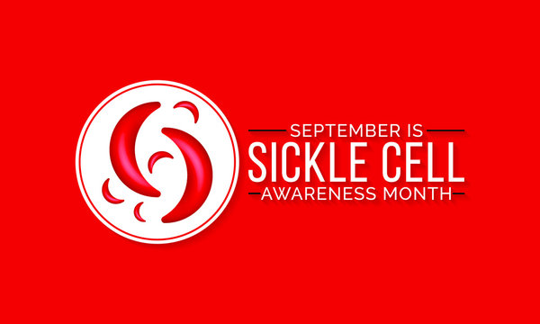 Vector illustration on the theme of National sickle cell awareness month observed each year during September.