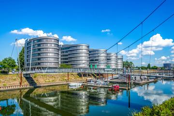 Fototapete - Hafen, Duisburg, Germany