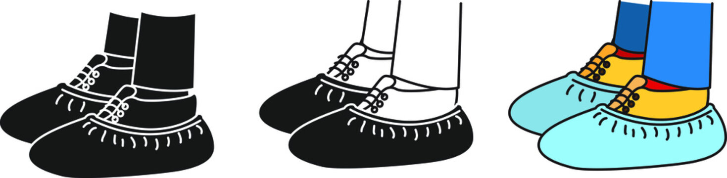 shoes cover icon