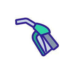 refueling gun icon vector. refueling gun sign. color symbol illustration