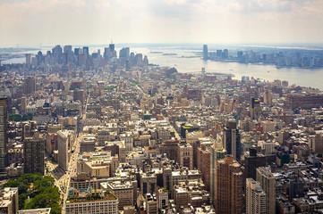 Vista su Manhattan