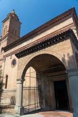 Fototapete - Historic church of Piratello, Imola