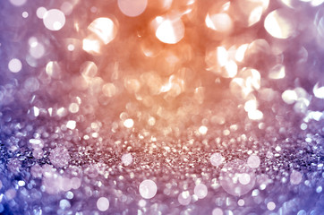 Purple abstract background with glitters.