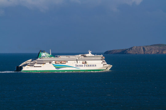 Editorial, Irish Ferries Ferry ship, landscape