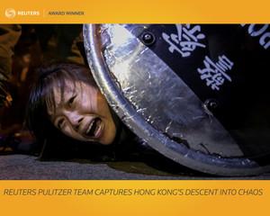 Award Winner: Reuters Pulitzer team captures Hong Kong?s descent into chaos