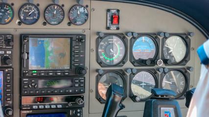 Cockpitinstrumente einer Cessna Grand Caravan (Cessna 208 Caravan)