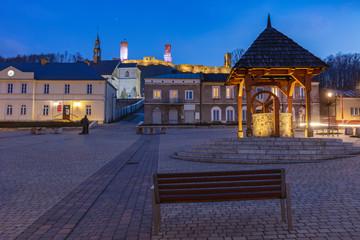 Main Square in Checiny