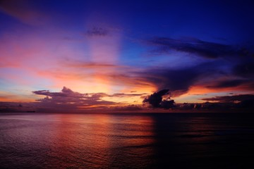 Scenic View Of Dramatic Sky During Sunset - fototapety na wymiar