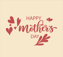 Happy mother's day vector | beautiful happy mother's day card| Mother's Day Card | Mother's Day | Mother Day vector | Mother Day Vector Background