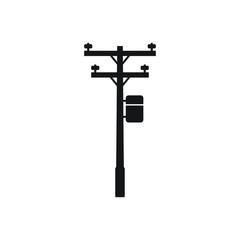 Fototapeta Power Pole icon obraz