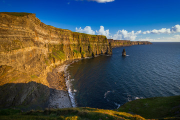 Wall Mural - Amazing Cliffs of Moher in Ireland, County Clare.