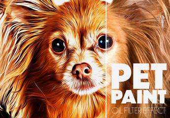 Pet Paint Effect