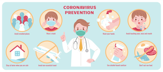 COVID-19 prevention promotion