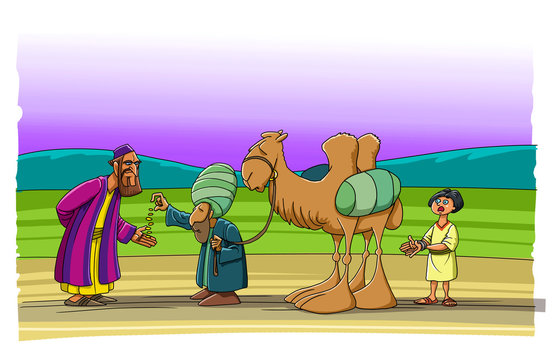 Brothers sell Joseph as a slave to merchants