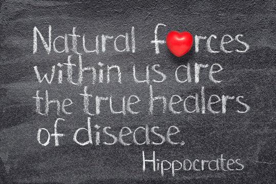 natural forces Hippocrates