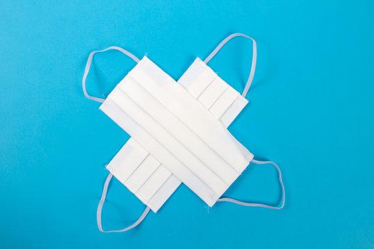 Masque de protection en coton, lavable 20 fois.
