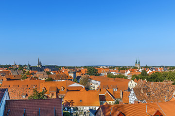 Fotomurales - View of Quedlinburg, Germany
