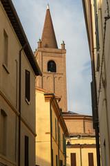 Fototapete - Historic buildings of Forli, Emilia Romagna