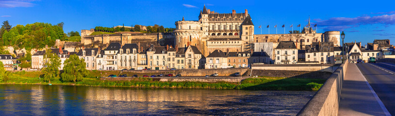 Great castles and historical landmarks of France- Chateau Ambois, Loire valley