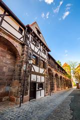 Wall Mural - Stadtmauer Nürnberg, Spittlertormauer mit Mauerturm, Nürnberg, Bayern