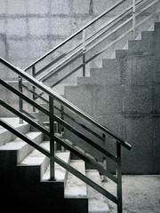 Canvas Prints Stairs Steps In Building
