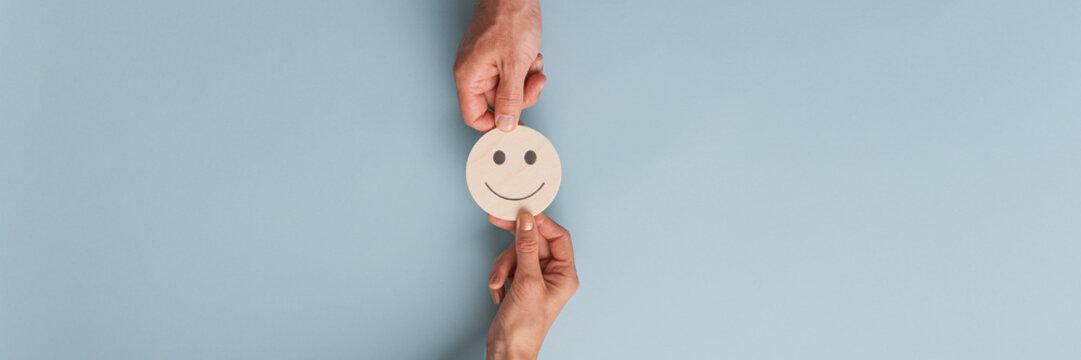 Customer satisfaction conceptual image