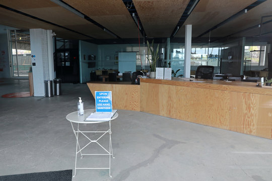 """The offices of Alphabet's Sidewalk Labs """"smart city"""" lie vacant in Toronto"""