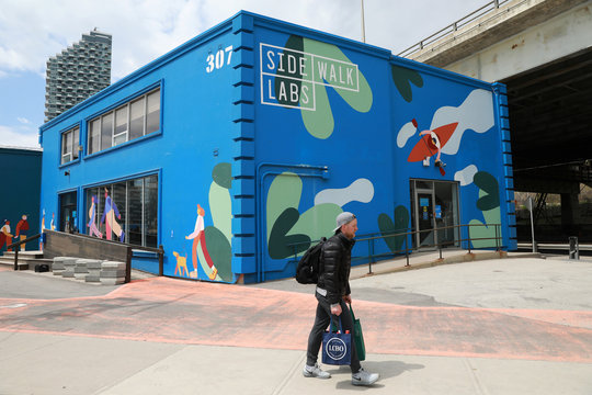 """The proposed site of Alphabet's Sidewalk Labs """"smart city"""", after the company announced it has pulled out of its project in Toronto"""