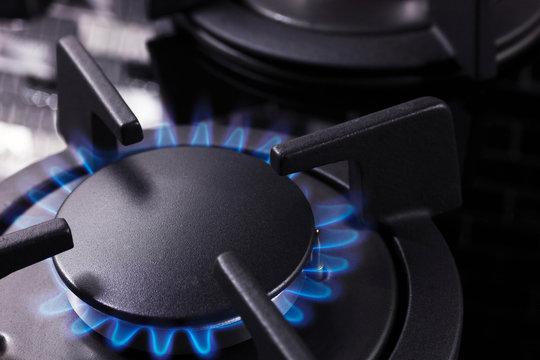 natural gas stove, natural gas hike icon