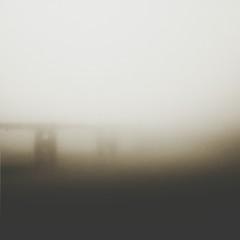 Fototapeta Bridge In Foggy Weather