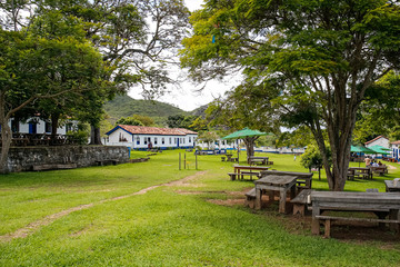 Biribiri village, tourist attraction, Biribiri State Park, Minas Gerais, Brazil