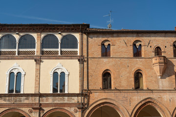 Fotomurales - Historic buildings of Forli, Emilia Romagna