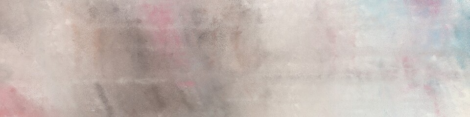 wide art grunge abstract painting background texture with silver, gray gray and old lavender colors and space for text or image. can be used as postcard or poster Wall mural