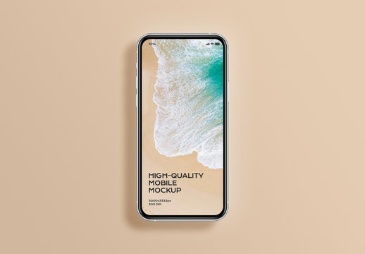 Simple Phone Mobile Device Mockup