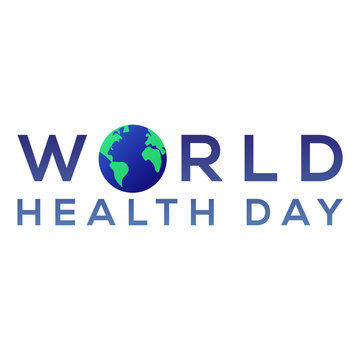 world health day banner illustration