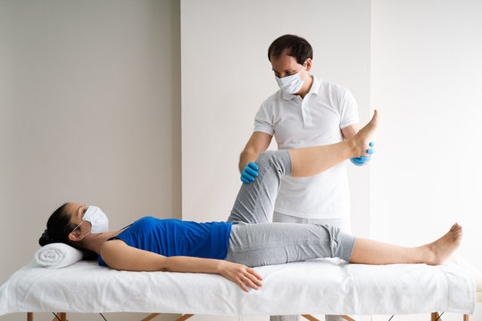 Physiotherapy Knee Injury Rehab And Massage