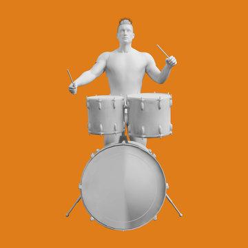 Drummer Drum Player