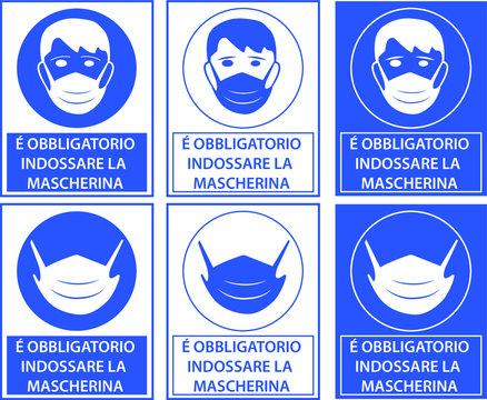 Equipaggiamento di Protezione Individuale - Obbligo di mascherina