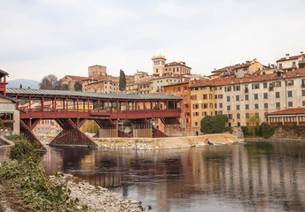 Ponte degli Alpini in Bassano del Grappa.