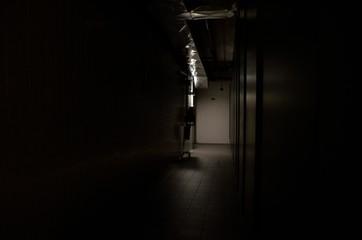 Illuminated Corridor - fototapety na wymiar