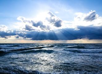 Poster Zee / Oceaan Scenic View Of Sea Against Sky