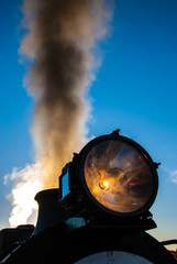 Locomotive Against Sky
