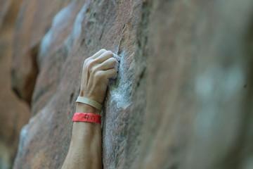 Rock Climber Hand