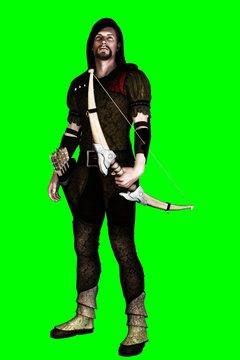 3D Robin Hood on green