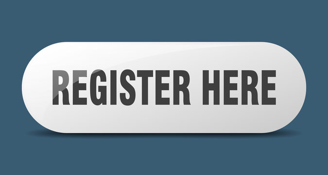 register here button. register here sign. key. push button.